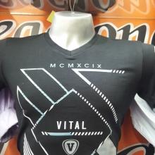 camiseta cuello v